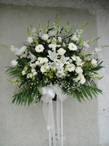 Serenity White Ceremonial Basket