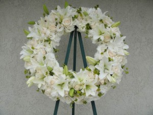 Divine White Wreath