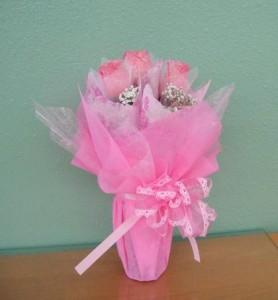 Sweetheart Pink Roses - hk002